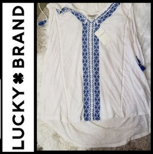Lucky Brand burnout tank top